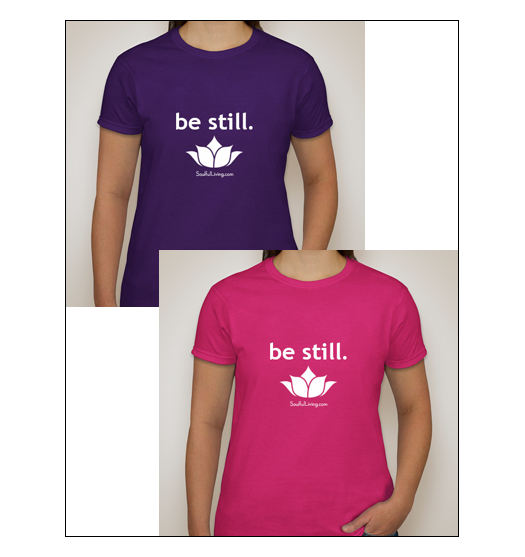 Be Still Crowdfunding T-Shirt