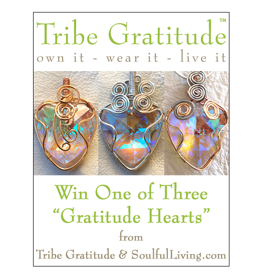 Tribe Gratitude Hearts Giveaway