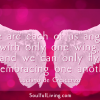 We are each of angels quote