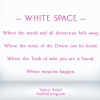 Living in the White Space