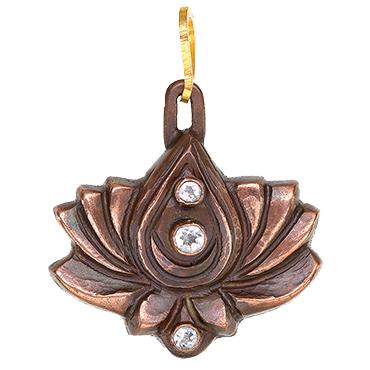 3-Star-Lotus-Amulet-Copper