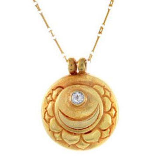 Crown Chakra Gold