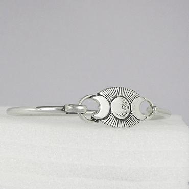 Jane Iris Bracelet Moon Phases Cuff Bracelet