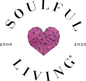 Soulful Living - Celebrating Twenty Years of Spiritual Growth, Self-Help, and Self Improvement - 20th Anniversary Logo