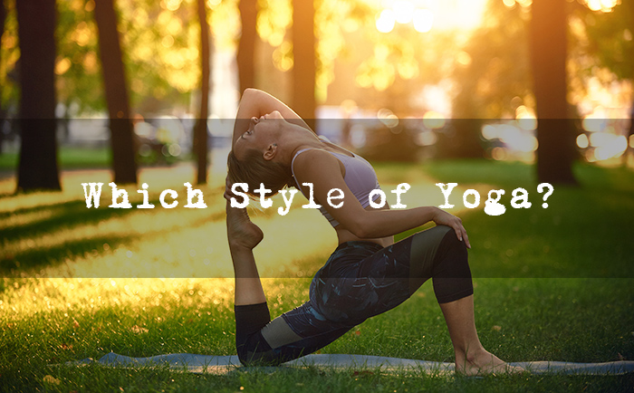 Which Style of Yoga is Right for Me?